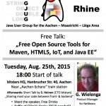 EuregJUG: Free Open Source Tools for Maven, HTML5, IoT and Java EE